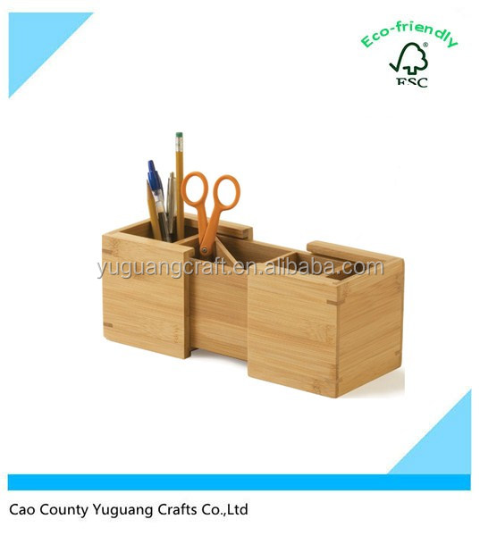 Wooden Pencil Holder Minimalist Decor On Home Gallery Design Ideas