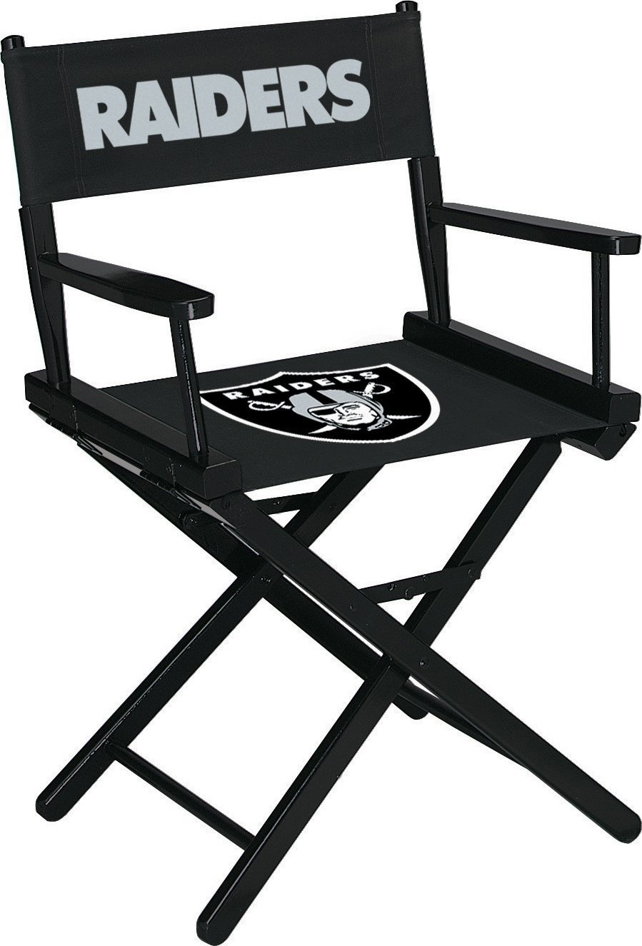 Imperial Officially Licensed NFL Merchandise: Directors Chair (Short, Table Height), Oakland Raiders