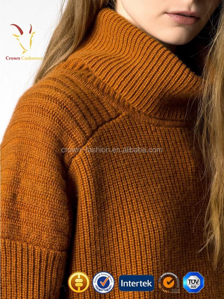 Womens Korean Long Neck Merino Wool Sweater For Winter - Buy Korean ... ab12d67de