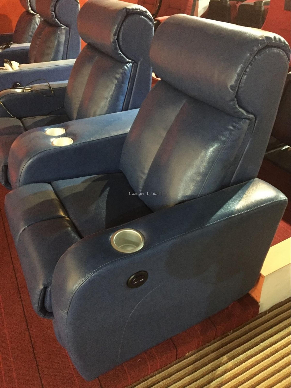 Luxury Leather Cinema Home Used Furniture 5d Vip Recliner Cinema
