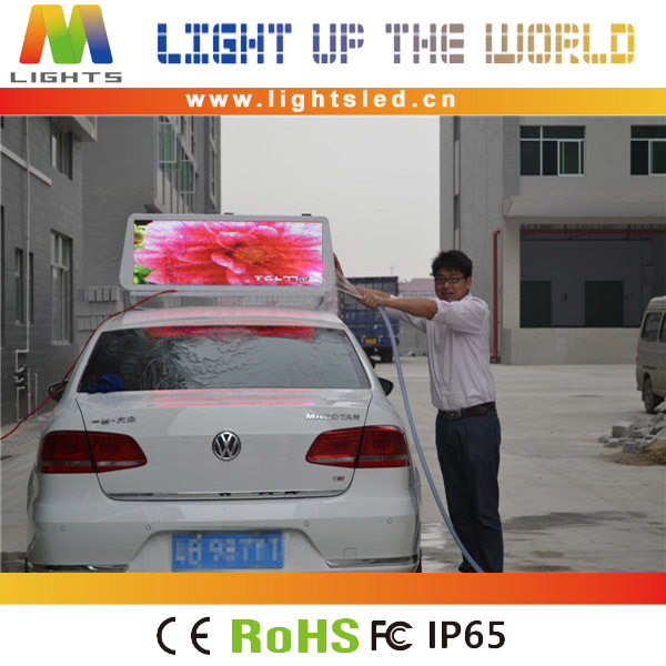 LightS computer synchronized led car rear window digital display