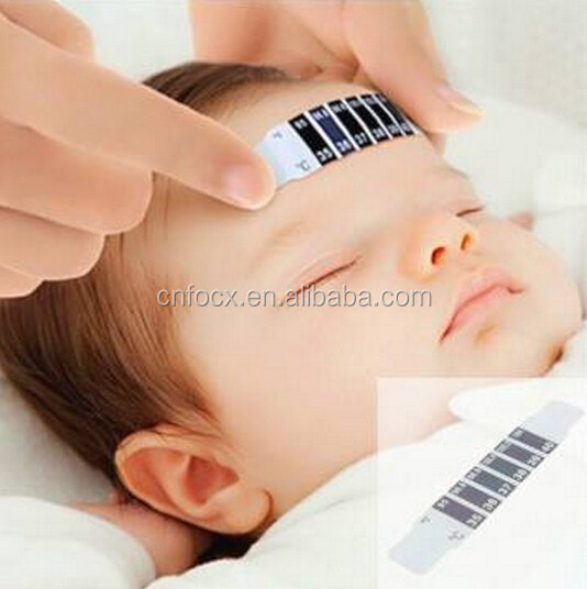 Baby Forehead Stickers Thermometer / Healthy Temperature Test / Thermometer Sticker