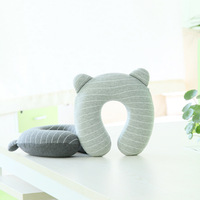 wholesale U shape child kids new airplane memory foam travel chin support head rest neck pillow