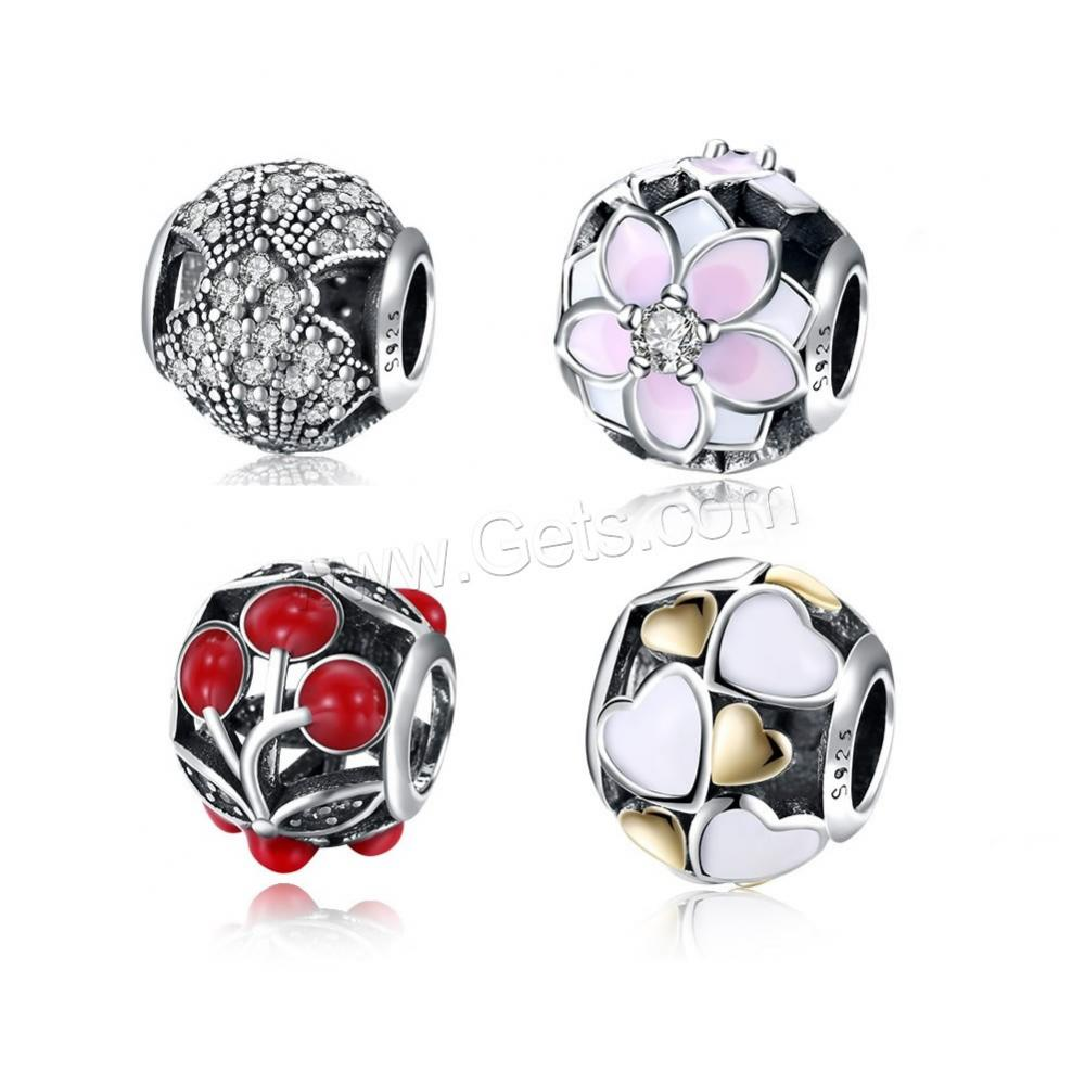 Strict Round Ball Cz Beads 8mm Diy Metal Bead Brass Micro Pave Cubic Zirconia Spacer Bead Charms For Bracelet Making Jewelry 1pcs Jewelry & Accessories