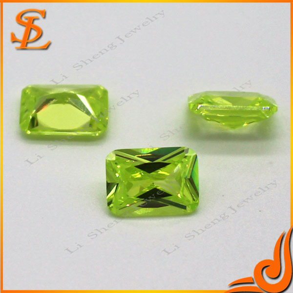 Wholesale products emerald stone prices loose cz gem