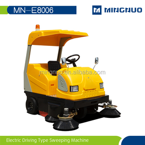 E8006 airport runway sweeper road sweeper with air condition
