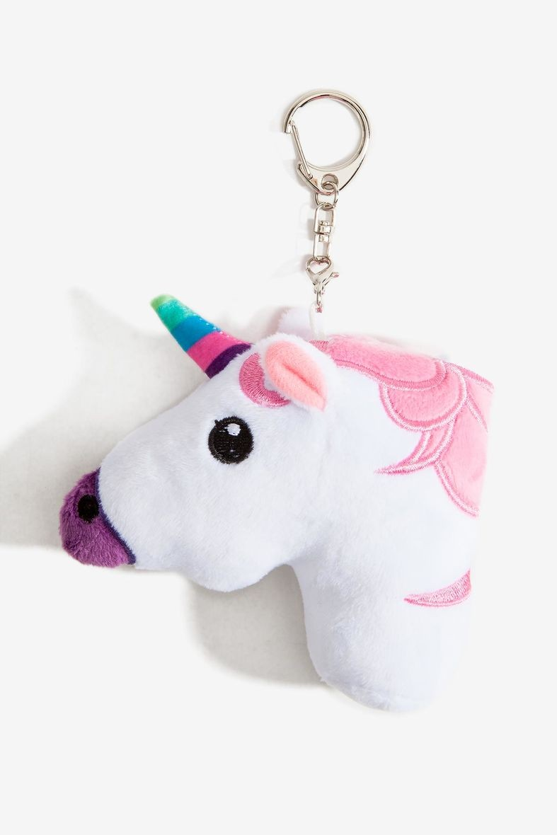 Lucu Desain Stuffed Mainan Hewan Unicorn Mainan Mewah Keychain