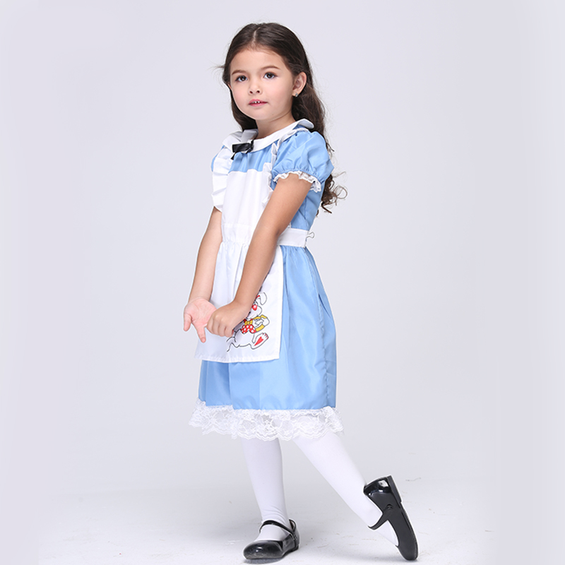 Direct Selling Girls Alice In Wonderland Movie Role Play Disguise Cosplay Party Performance Halloween font b