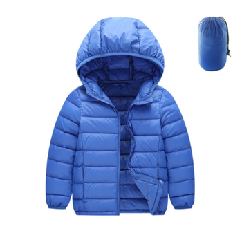 Kids Girls Boys White Duck Down Jacket 90% Winter Warm Ultra Light Children Jacket
