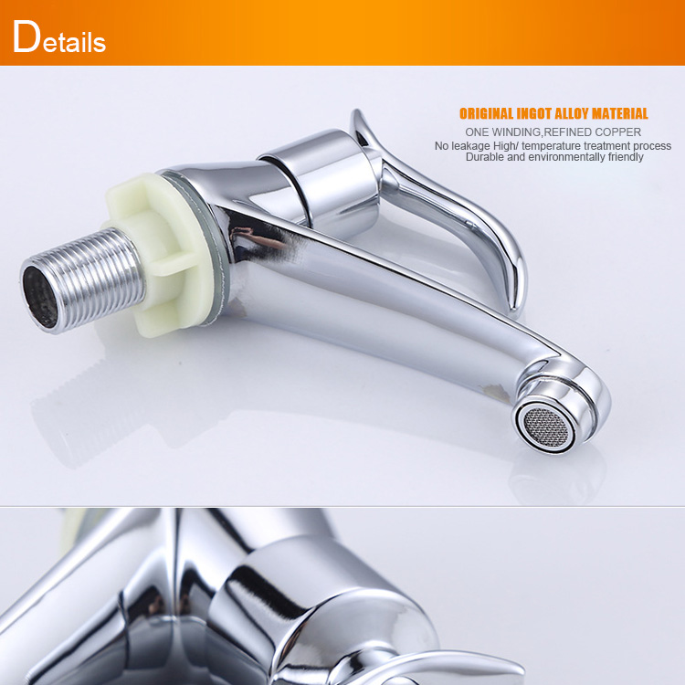 Zinc Alloy Cold Water Bathroom Faucet - Buy Garden Outlet,Zinc Alloy ...