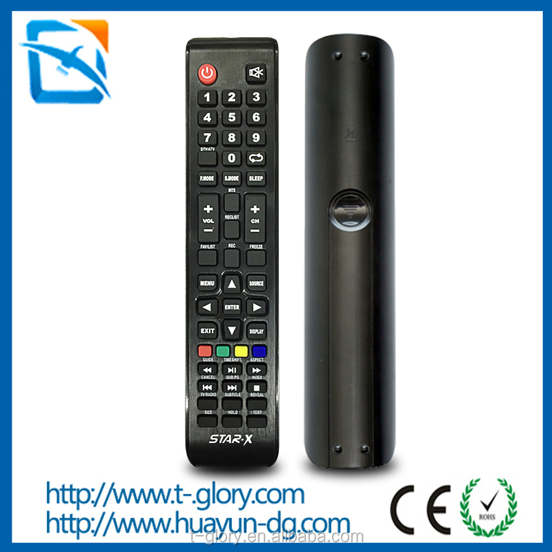 Hot sale in India market television remote control for star x led tv