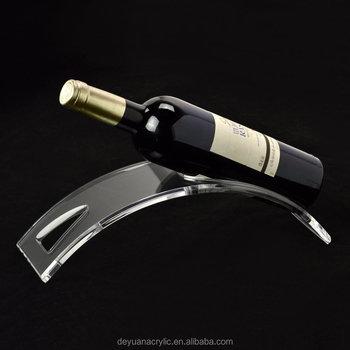 Pas Cher Prix Transparent Nouveaute Acrylique Porte Bouteilles De Vin Liqueur Support Buy Casier A Vin De Nouveaute Casier A Vin Porte Bouteille De