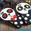 High quality shock proof cute panda design case silicone mobile phone case for iphone 6s