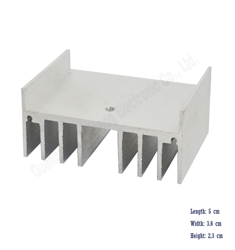 custom extrusion heatsink die casting aluminum fin pin forging heat sink for led manufacturers