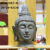 Outdoor decor large buddha statues made of fiberglass