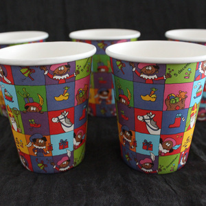Chinese factory direct sales wholesale price disposable custom cheap 7oz paper cup