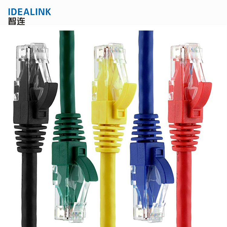 Low price small orders 4 pairs network cable cat6 utp patch cord 3m cat 6 patch cable for sale