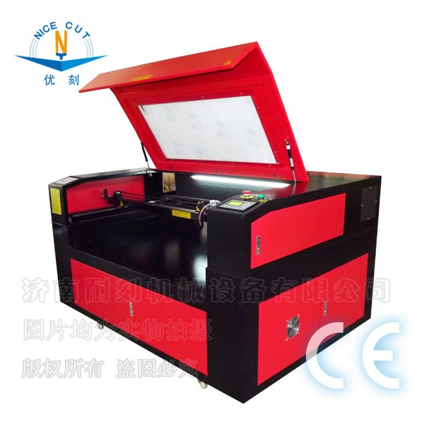 NC-C1290 machine de gravure laser 3d en cristal tempered glass cutting machine used laser cutting machines for sale