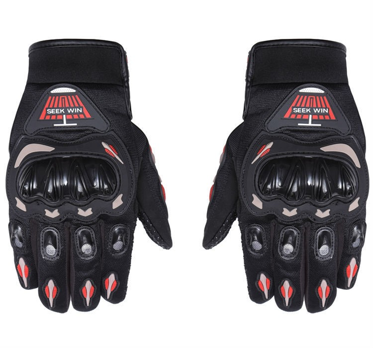 Motorbike Knuckle Protection Racing Gloves Motorcycle Riding ...