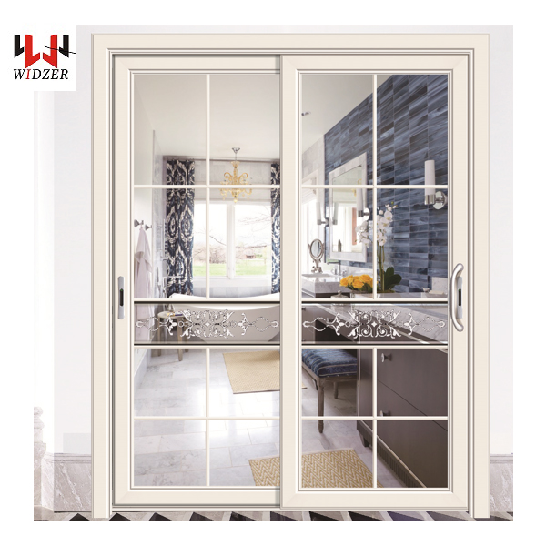 AS2047 standard soundproof aluminum tempered glass hinges folding sliding doors and windows