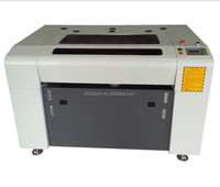 Factory supply 60W mini crafts Laser Engraver rubber stamp portable CO2 laser engraving machine price DRK4060 6090 1060