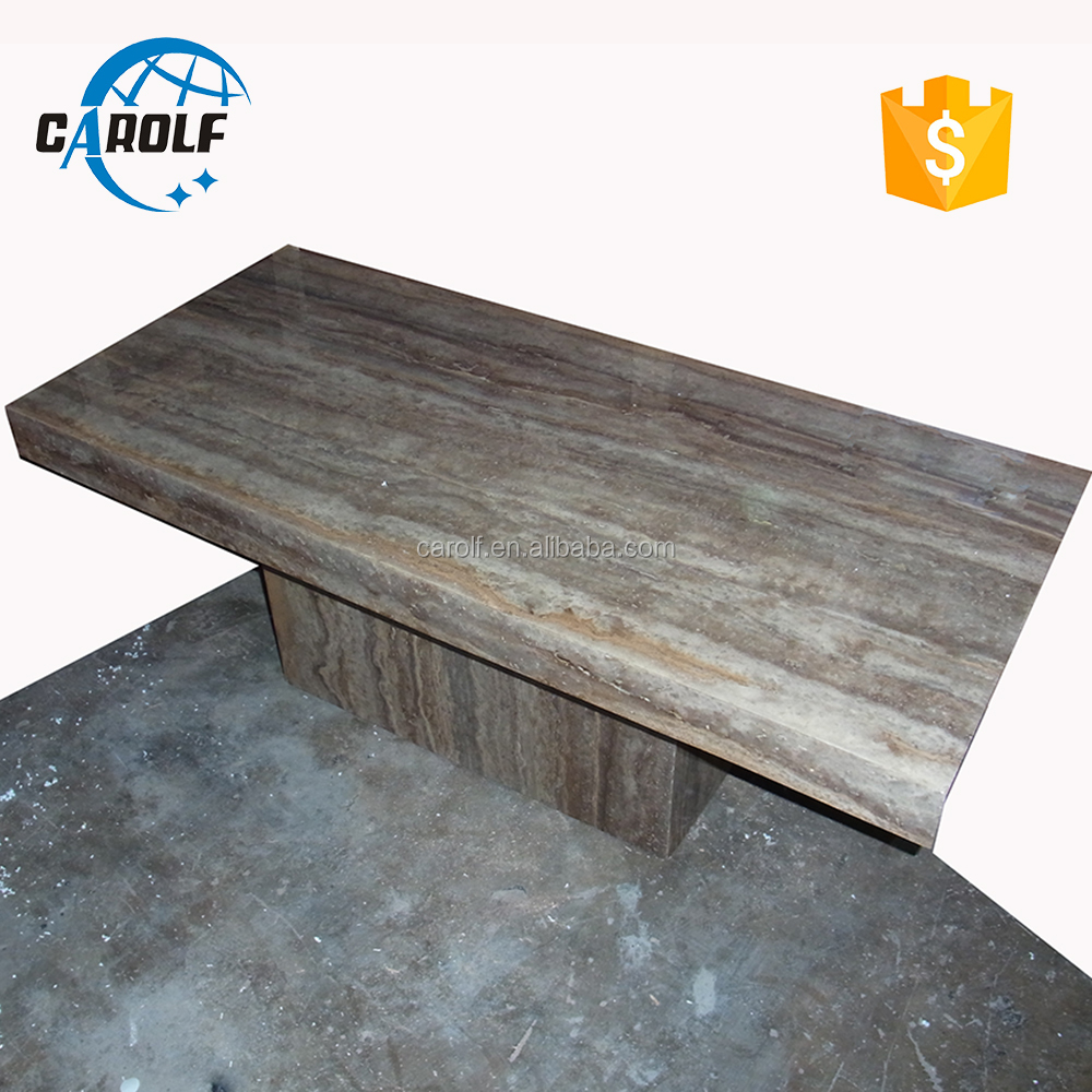 New products 2019 grey marble <strong>dining</strong> <strong>table</strong> with heavy duty