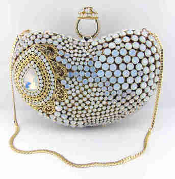 AB7000#33 New arrival fashion design lady clutch handbag/stone clutch bag/party cluch bag