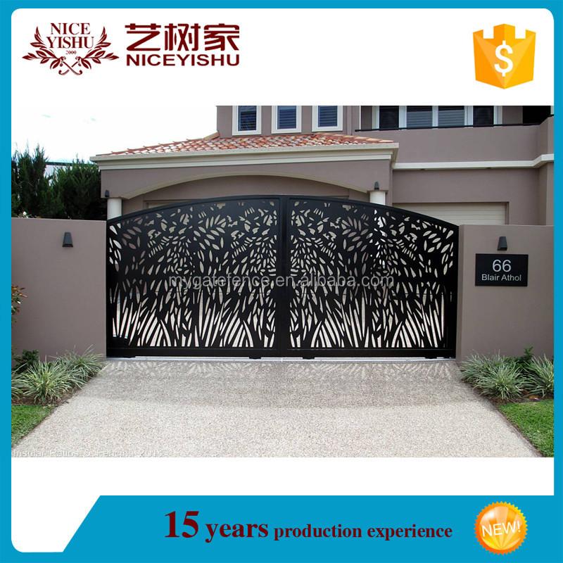 Latest main gate designs entrance gate design sliding main for Latest main gate designs