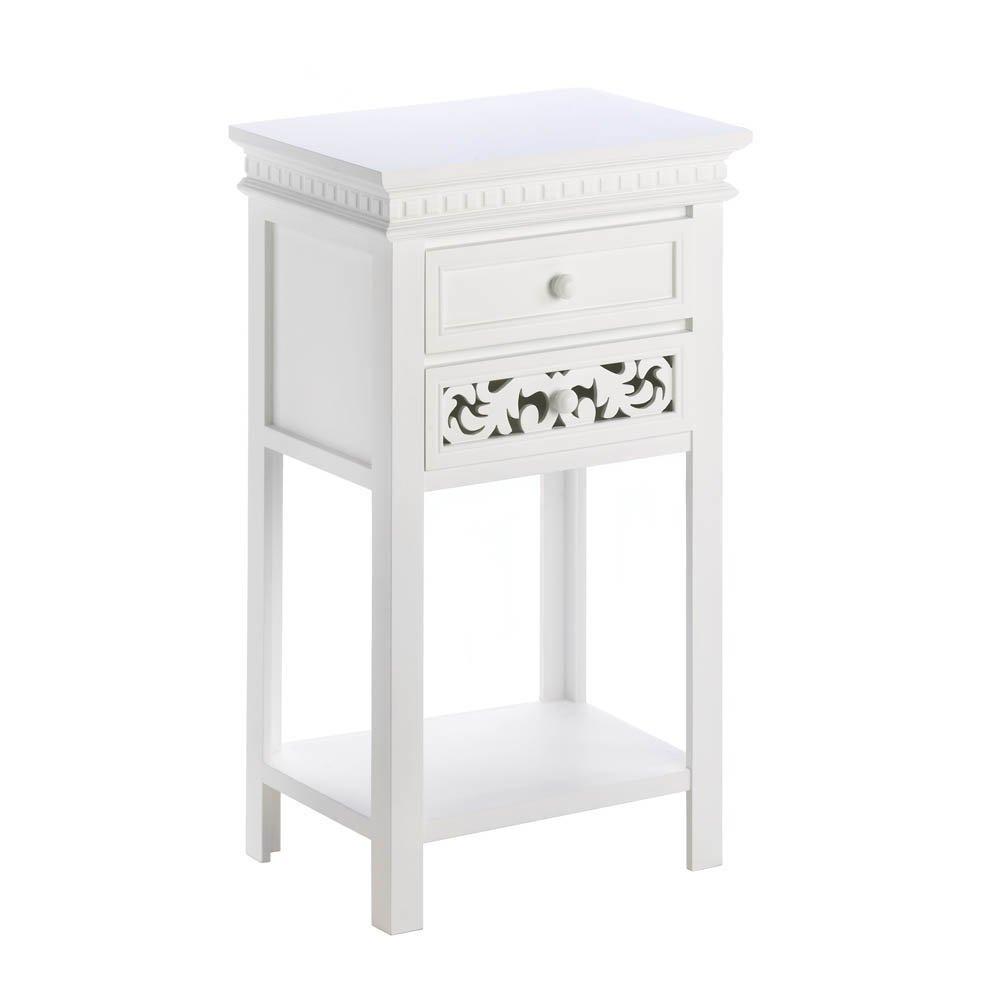 Koehler 10015524 28.375 Inch Fleur-De-Lis Side Table