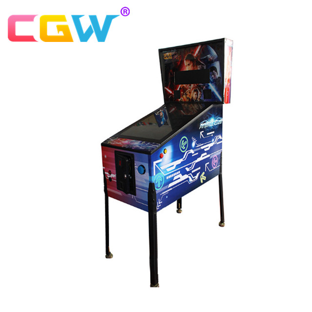 Coin Operated Virtual Pinball Arcade Games Machine Manufacturer