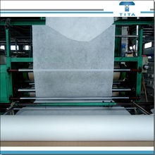 PVA plain nonwoven 90c hot water fusible interlining