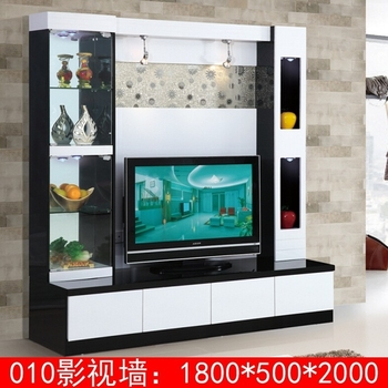 New arrival modern tv stand wall units designs 010 lcd tv unit