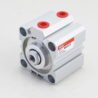 RIH Good Price SDA Standard Thin Slim Compressed Impact Pneumatic Cylinder