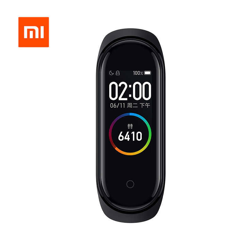 Original Xiaomi Mi 4 สีสมาร์ท Miband 4 สร้อยข้อมือ Heart Rate Fitness BT 5.0 AI Heart Rate Mi band 4