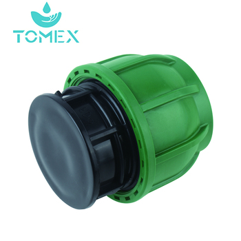manufacture green color plastic hdpe compression fittings for water supply
