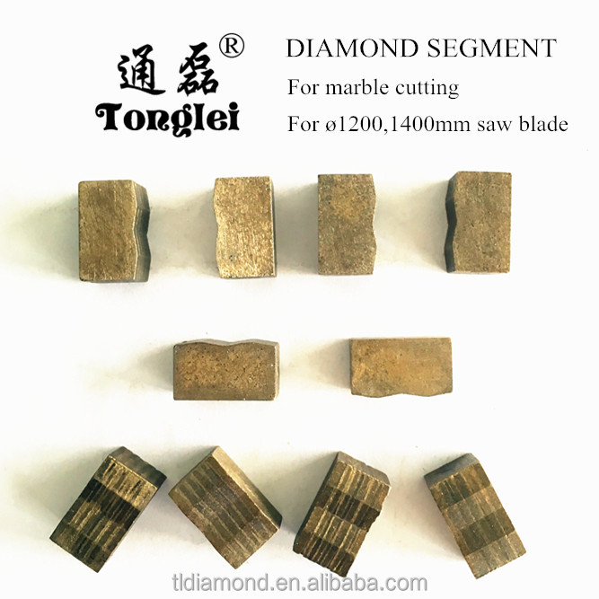 China Professional Manufacturer Fast Cutting Diamond Segment for Granite Marble Cutting