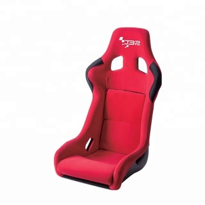 Fiber Glass Red Racing Seat Bucket seat for Universal Automobile Use 1066