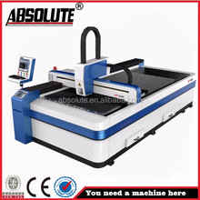 ABSOLUTE brand laser cutting machine for stainless steel tempered glass cutting machine/fiber laser cutting machine