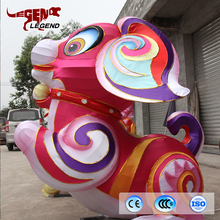 Chinese new year lantern show lovely dog lantern from Zigong