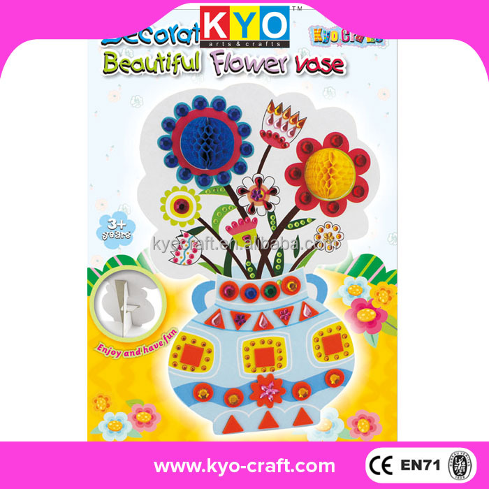 Popular 3D CE EN71 holiday paper crafts for kids