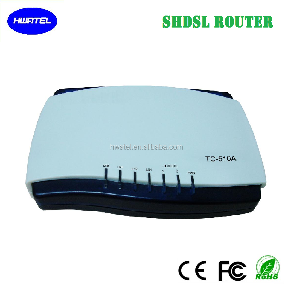 4 wire g. shdsl router <strong>modem</strong> with 4 port ethernet 11M bps