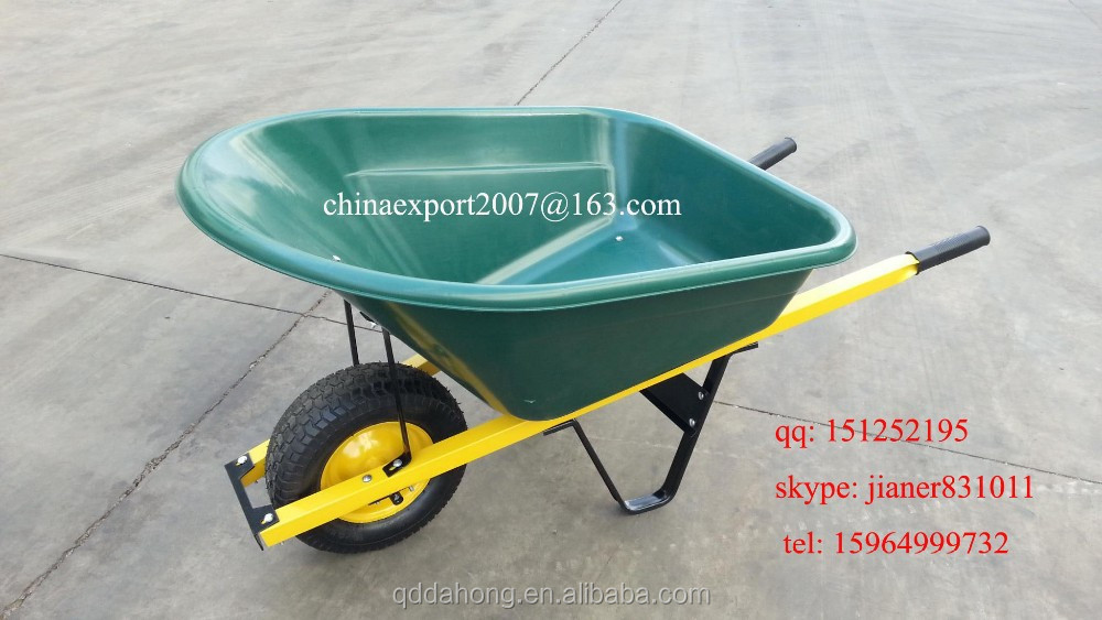 Large Capacity Plastic Wheelbarrow WB8606P