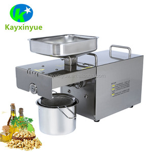 Cold mini oil press machine /oil expeller/small coconut oil extraction machine