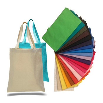 Promo promotional blank canvas tote bag