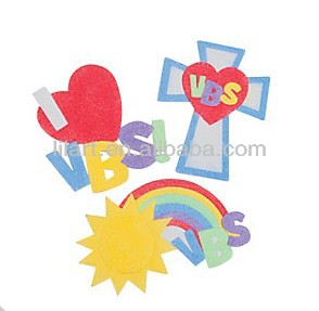 color VBS Sand Art pictures Magnets Craft Kit for kids