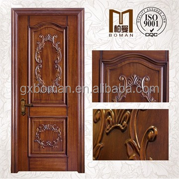 China Top factory wholesaler price for soundproof modern latest design solid wood arch door