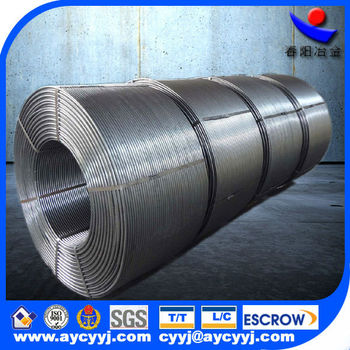 Flux Calcium Silicon Alloy Cored Wire Used For Steel Making China ...