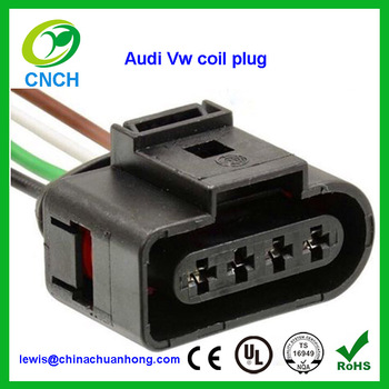 audi vw ignition coil connectors harness plugs wiring jetta passat rh alibaba com 68 VW Wiring Diagram vw wiring harness clips