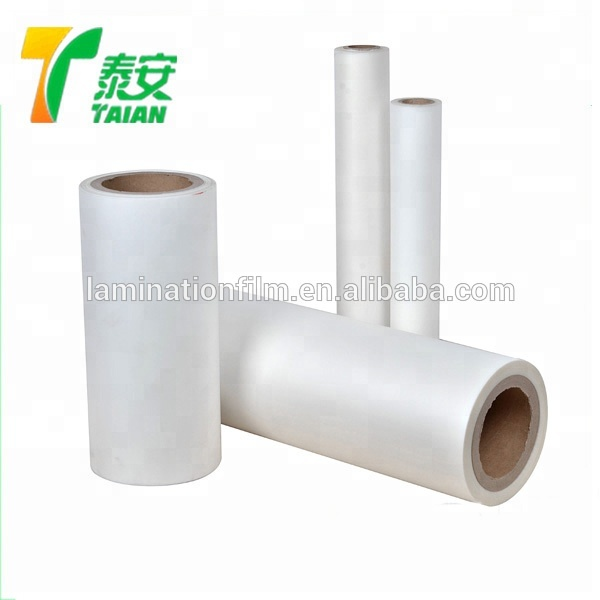 Best price thermal bopp lamination film glossy and matte for package 2015 photo laminating for printing film roll