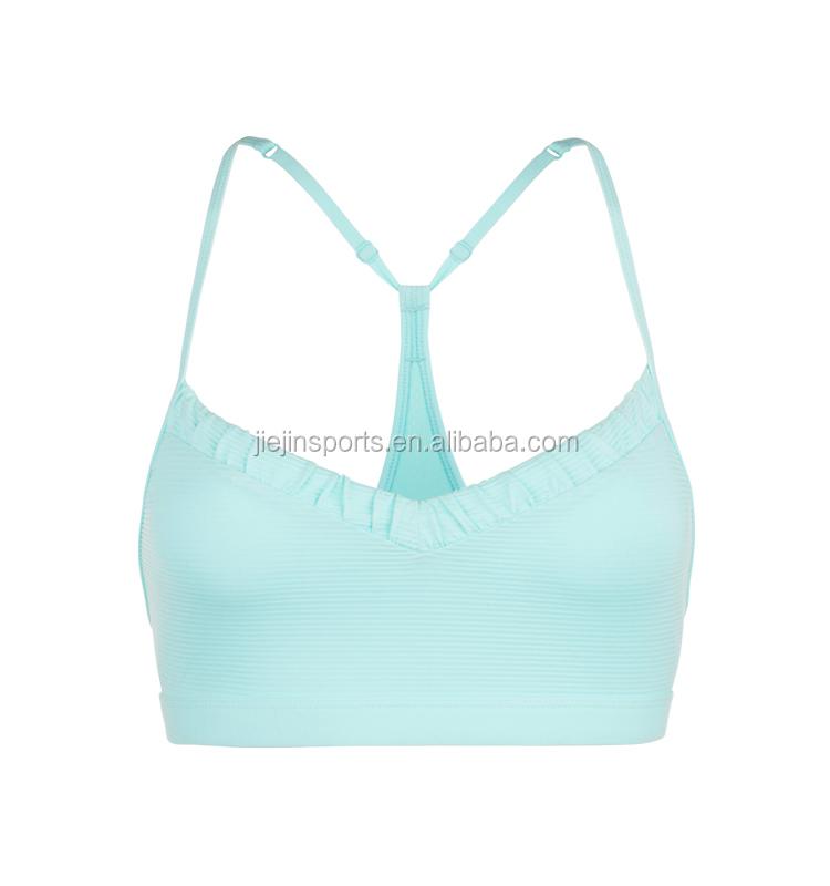 Cotton Yoga Clothing Sports Bra With Top Quality Sports Bra Active wear Yoga Bra